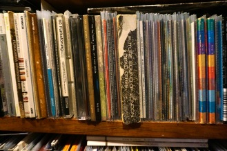 08 - Showing Future Sound of London and Peter Gabriel, large collections mostly reduced down to slim plastic sleeves
